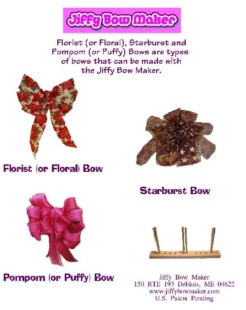 Ribbon Bow Maker http://www.wreathmart.com/ribbonbowmaker.html